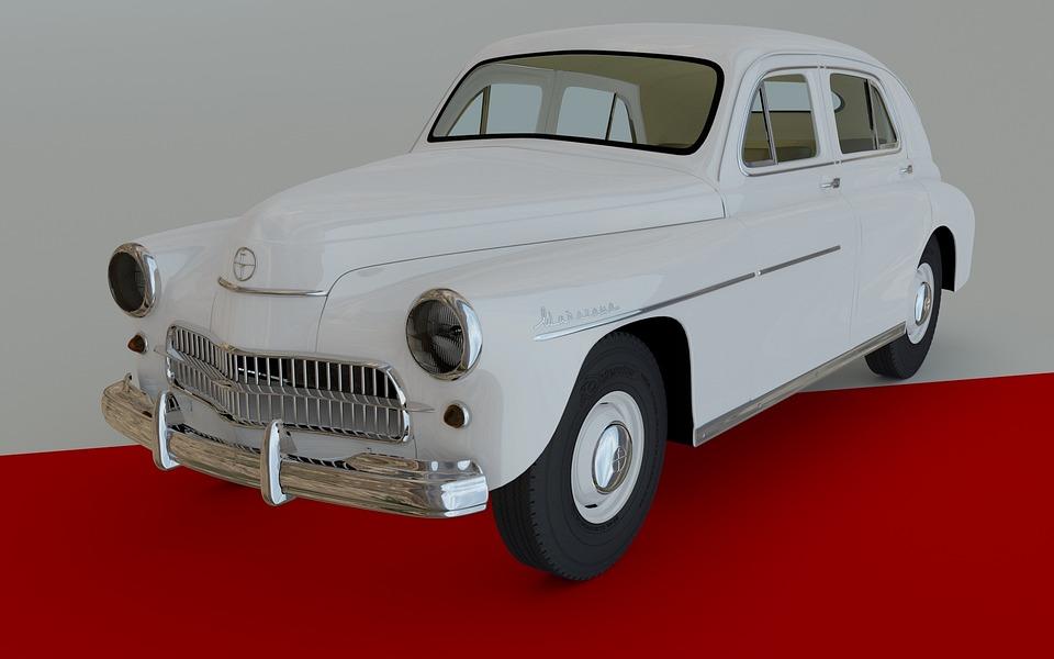 Car, Vintage, Classic, Chrome, Transport, Old, Retro