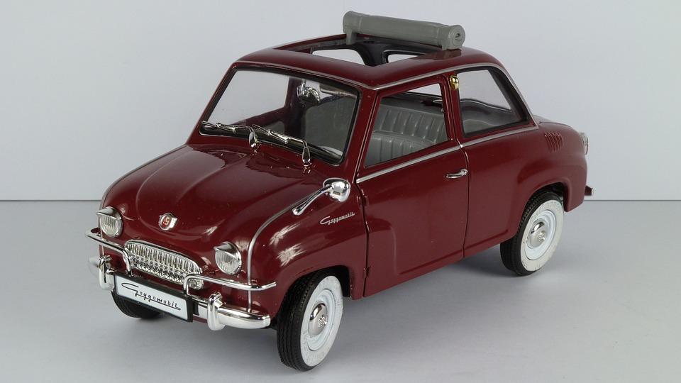 Goggomobil, T 250, 1955, T250, 1x18, Model Car, Revell
