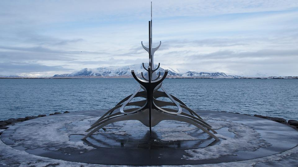 Iceland, Reykjavik, Viking, Solfar Sun Voyager