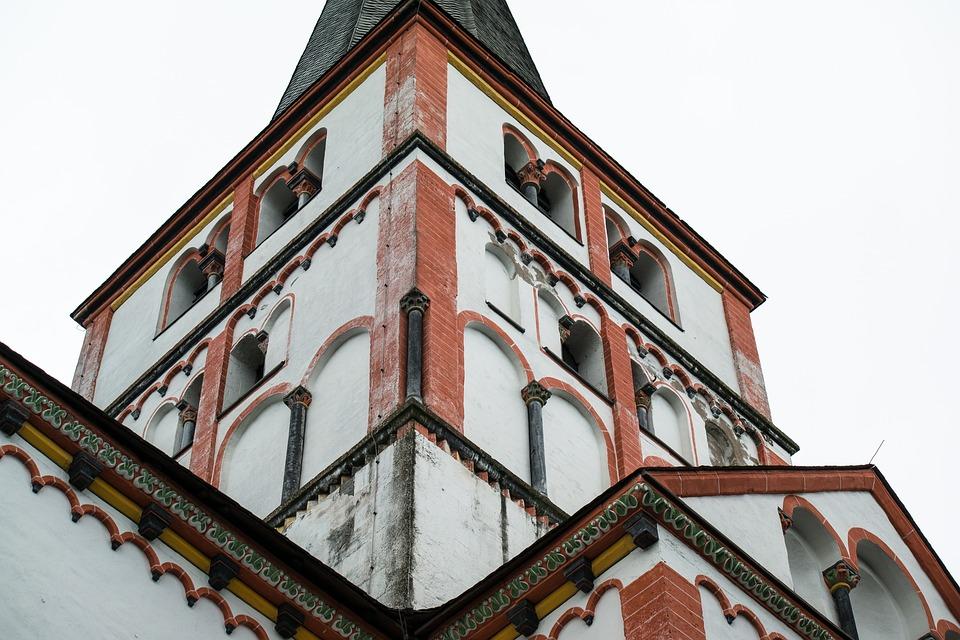 Tower, Church, Steeple, Rhaeto Romanic, Christian