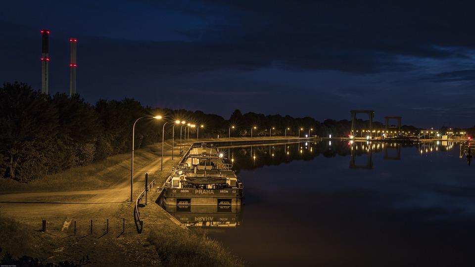Port, Lock, Waters, Ship, Rhine, Rhine Cruises
