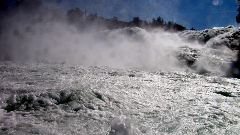 Rhine Falls, Schaffhausen, Switzerland, Rhine