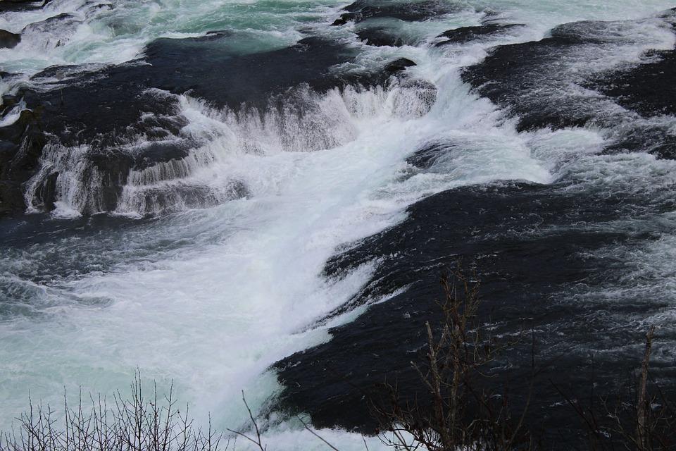 Water, Rhine Falls, Schaffhausen