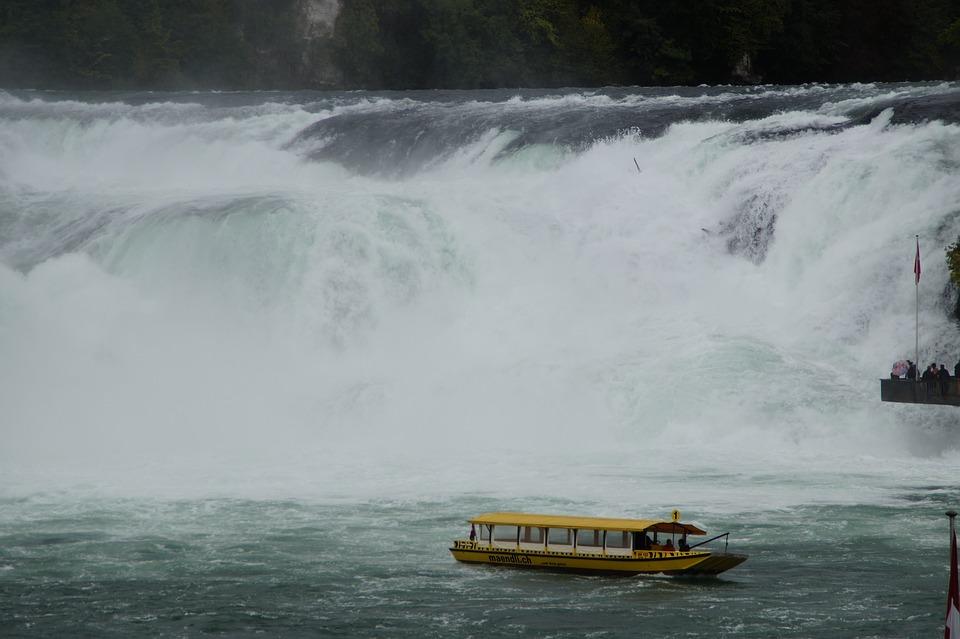Rhine Falls, Rhine, Switzerland, Schaffhausen
