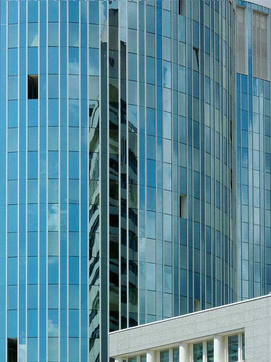 Architecture, Offenbach, Rhine-main, Reflection