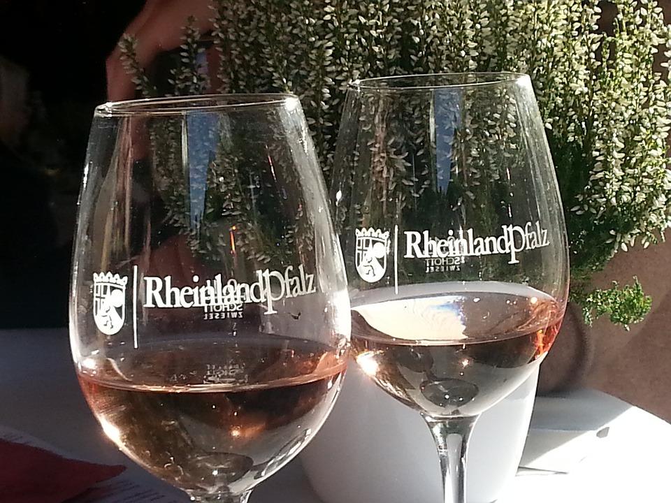 Rhineland Palatinate, Wine, Rose Wine, Winglas