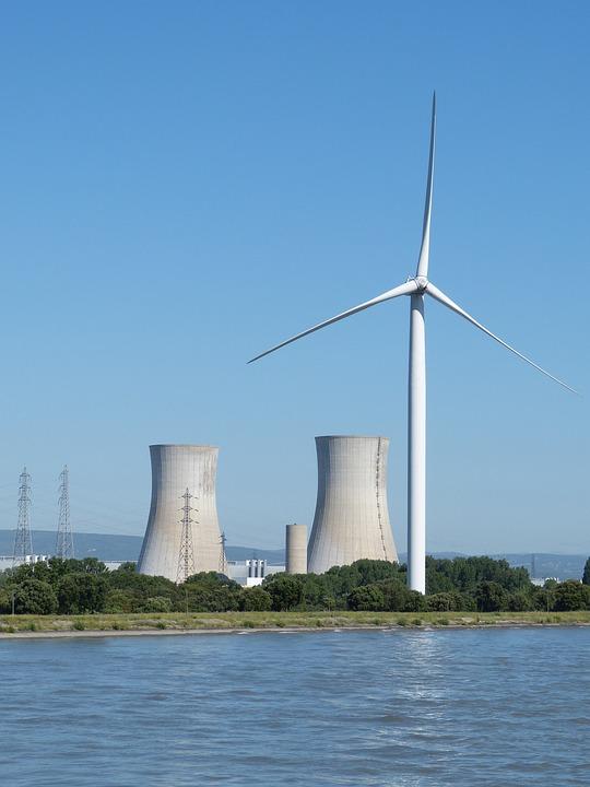 France, Rhône, River, Nuclear Power Plant, Power Plant