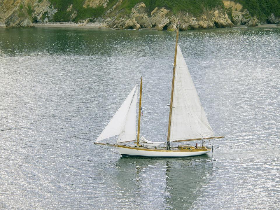 Sailboat, Ria, Ribadeo Lugo