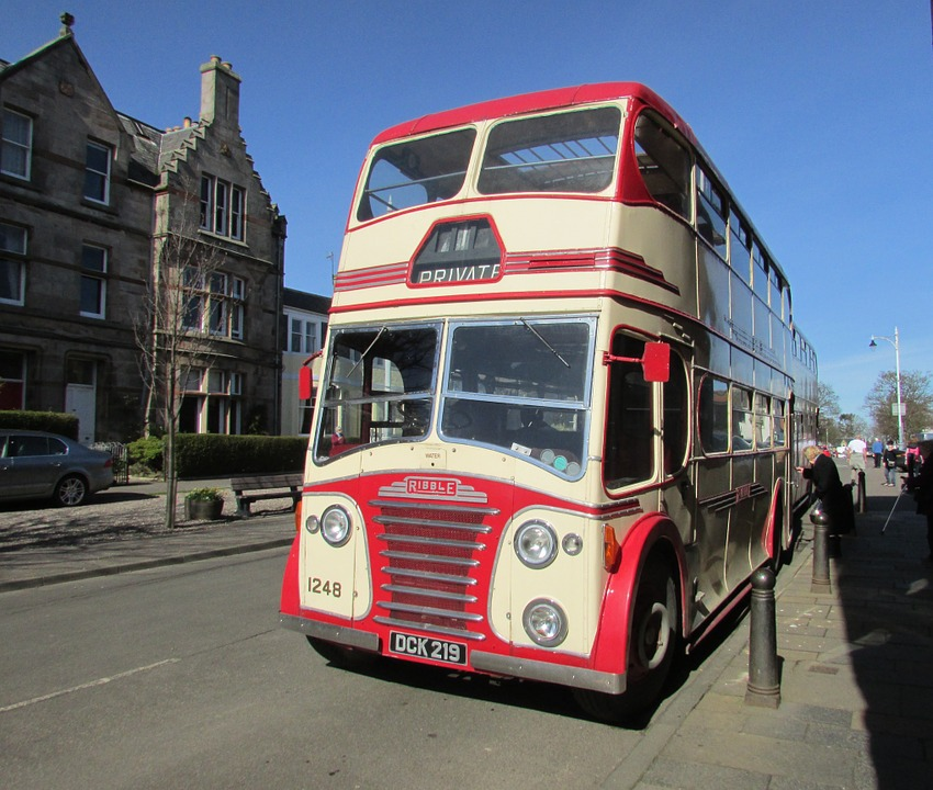 Bus, Old, Titan, Ribble, Vehicle, Vintage