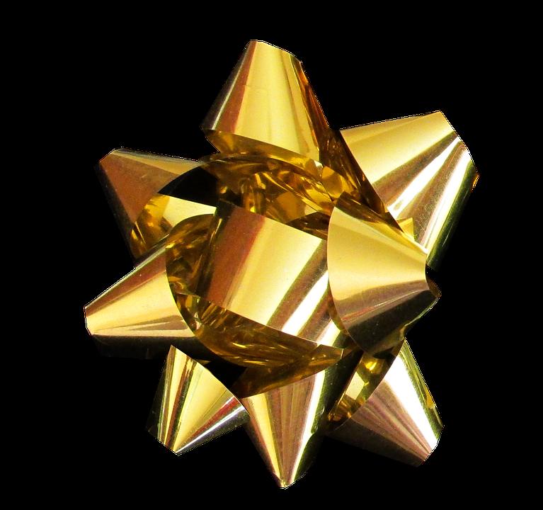 free photo ribbon gold christmas max pixel