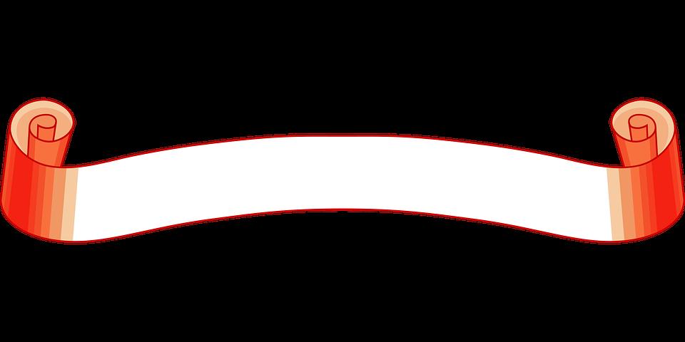 Banner, Ribbon, Sign
