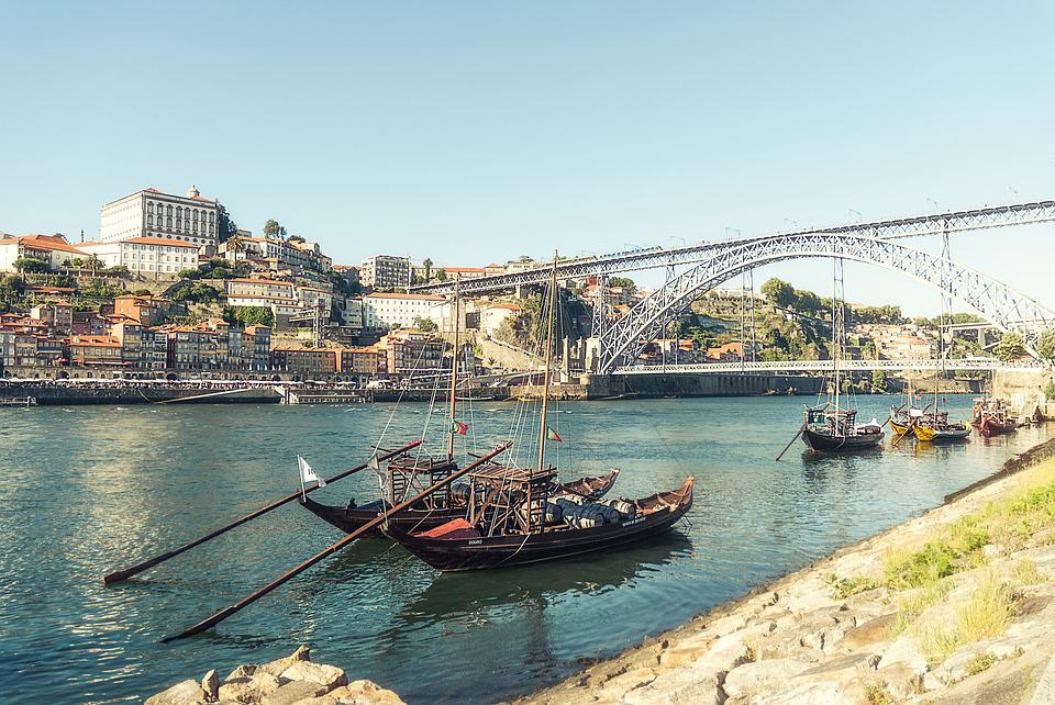 Porto, Portugal, River Douro, Historic City, Ribeira
