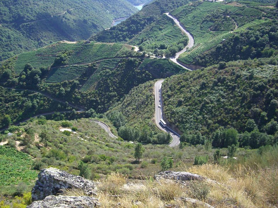 Galicia, Mountain, Nature, Ribeira Sacra, Landscapes
