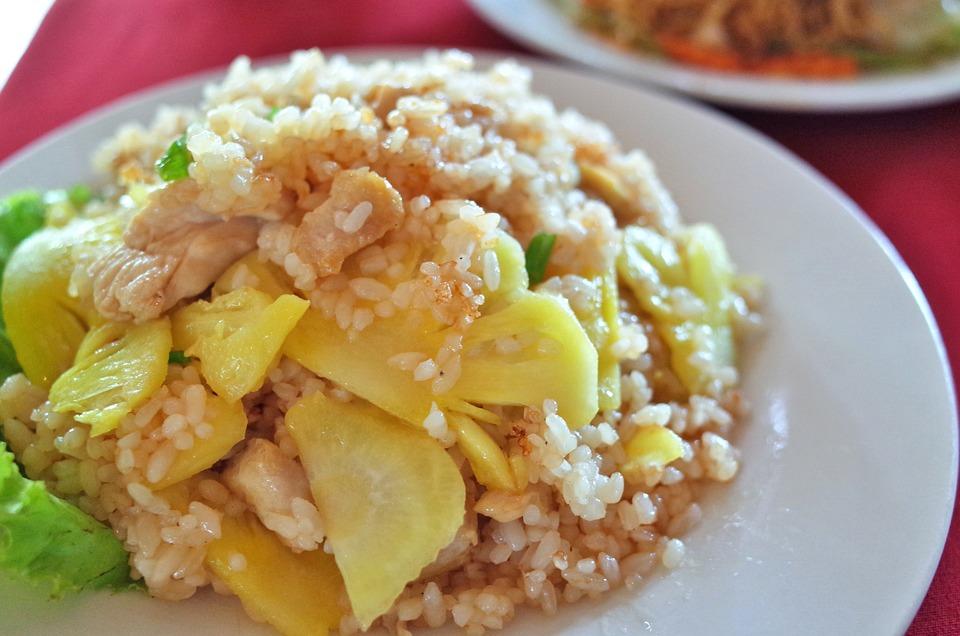 Rice, Dish, Food, Asian