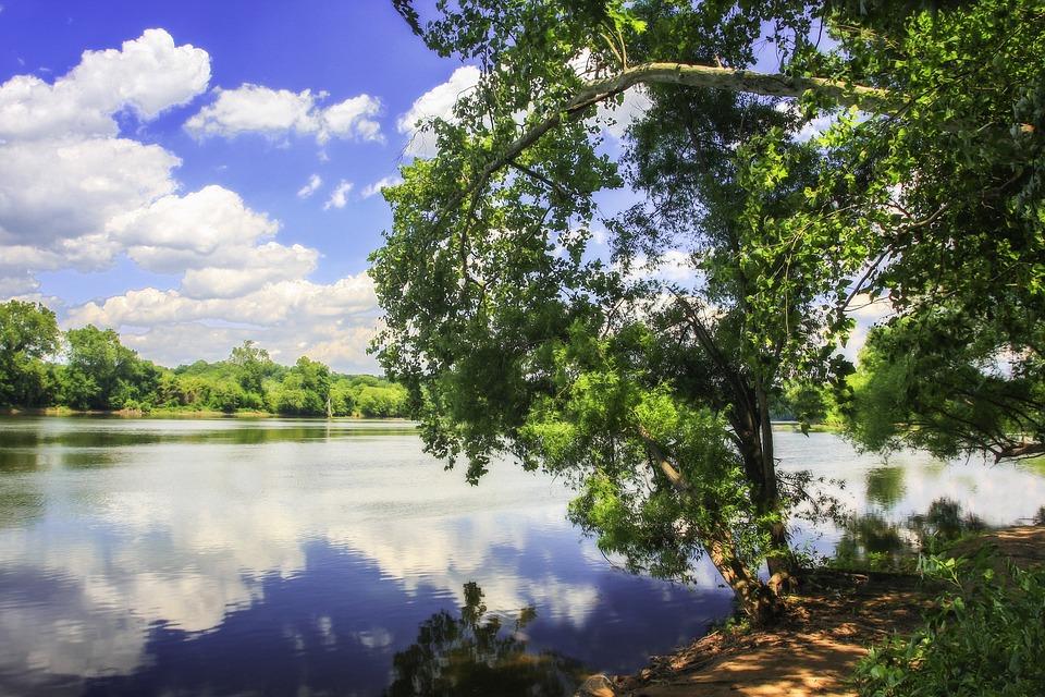 Color, James River, Richmond, Virginia, Quiet Water