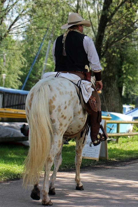 Cowboy, Horse, Reiter, Western, Ride