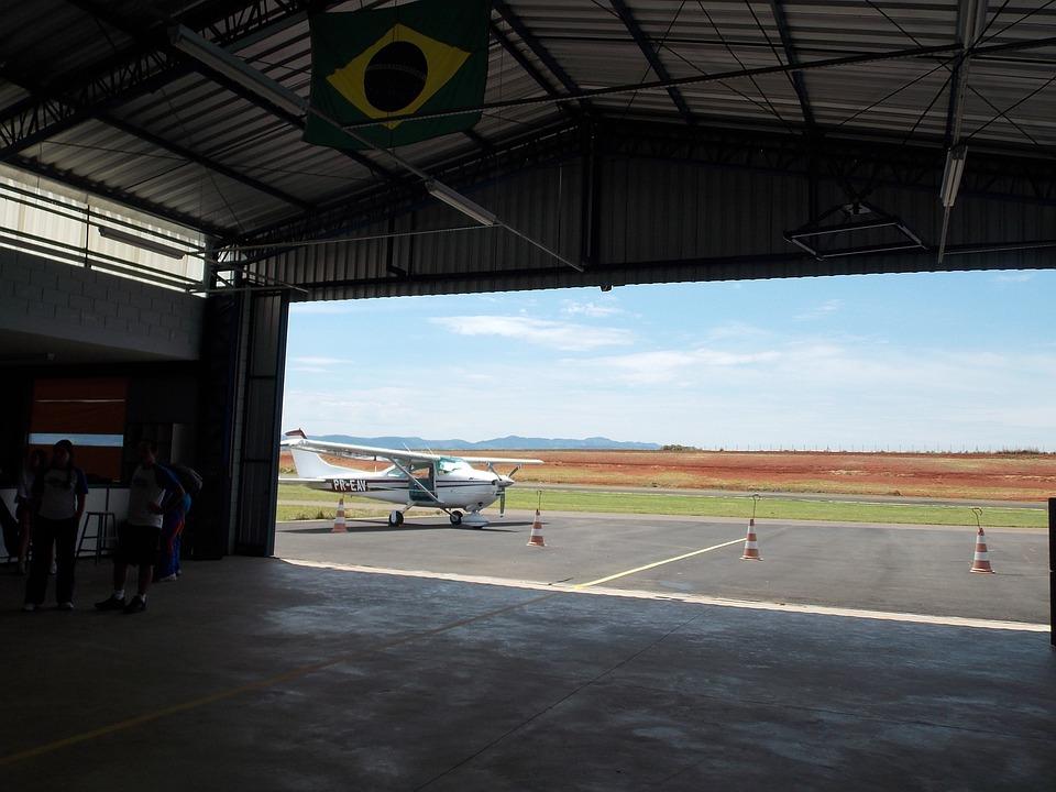 Plane, Brazil, Flying, Ride, Parachute