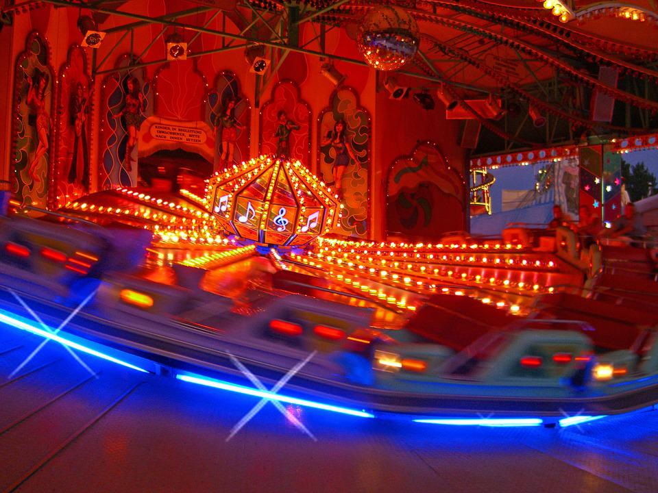 Carousel, Ride, Oktoberfest, Munich, Fun, Joy