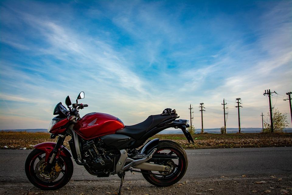 Bike, Road, Lifestyle, Landscape, Blue Sky, Rider