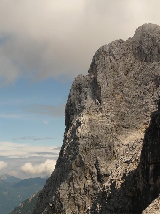 Mountain, Ridge, Rock, Wall