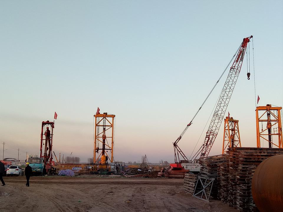 Industry, Crane, Machine, Rig
