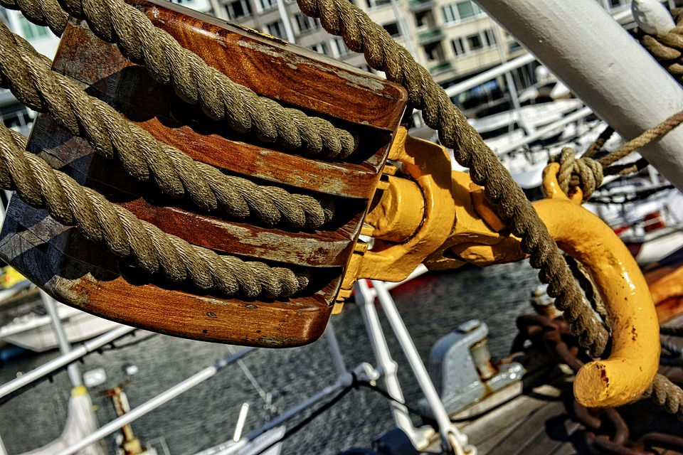 Marine, Boat, Ship, Boat School, Old, Port, Rigging