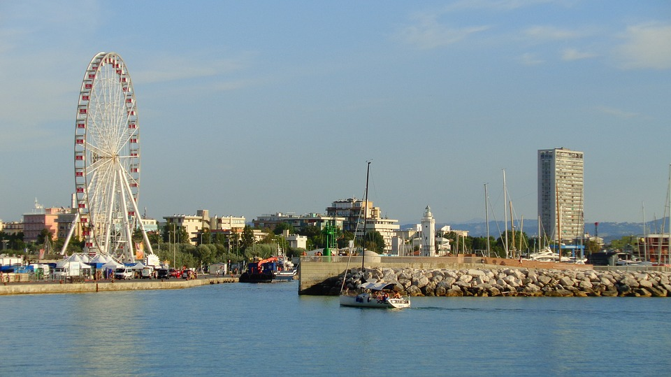 Rimini, Porto, Beautiful Ferris Wheel