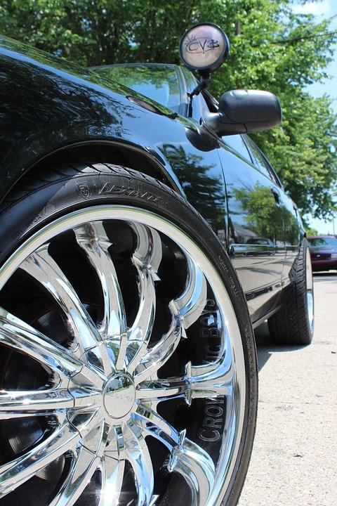 Rims, Crown Victoria, Ford, Police Car, Car Club, Car