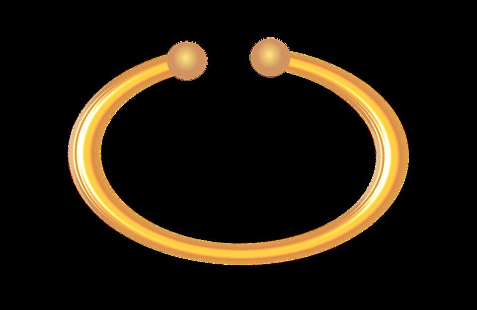 Bangle, Gold, Ring