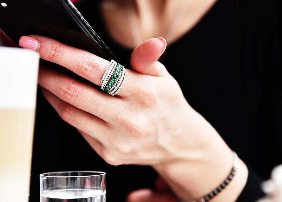 Jewelry, Diamonds, Ring, Hand, Fashion Jewelry