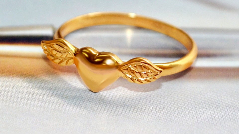 Gold, Ring, Jewelry, Gold Plated