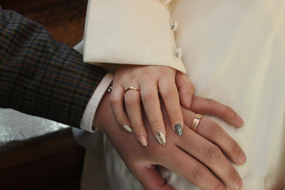 Hand, Ring, Marriage, Women's, People, Man, Couples