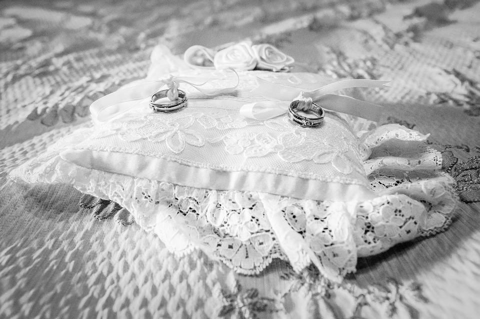 Rings, Marriage, Pillow