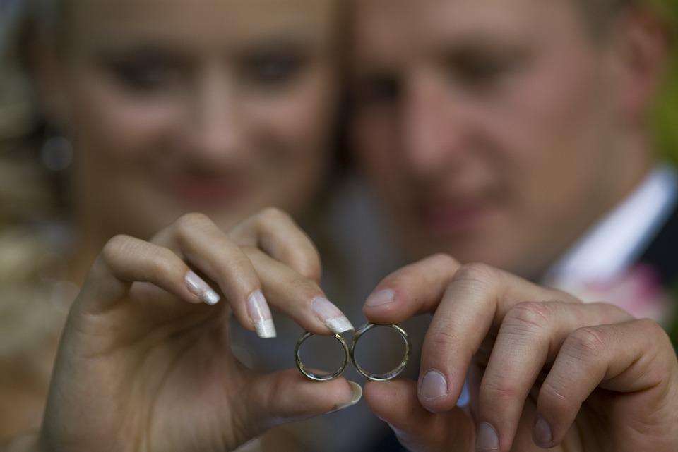 Rings, Wedding, Romantic, Romance, Love, Happiness
