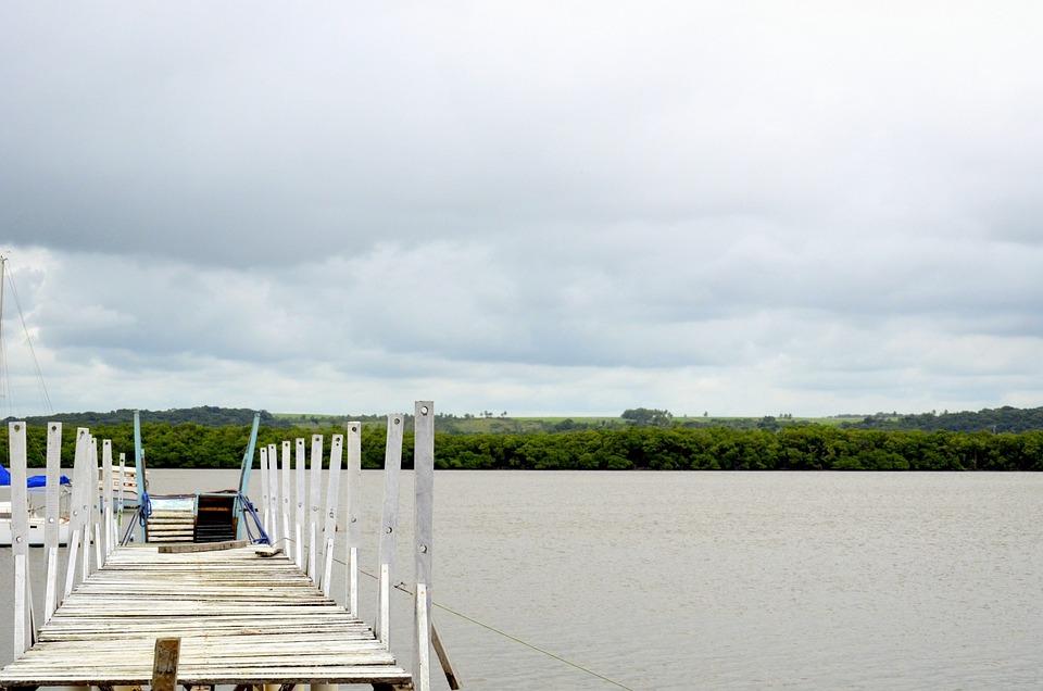 Bridge, Trapiche, Anchorage, Rio, Paraíba