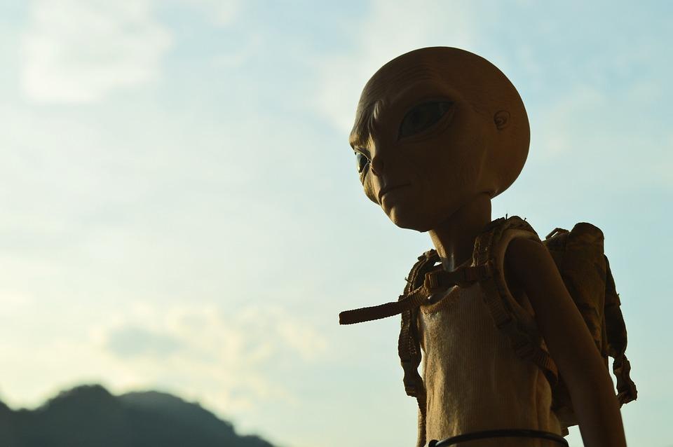 Alien, Backpack, Landscape, Tourist, Rio De Janeiro
