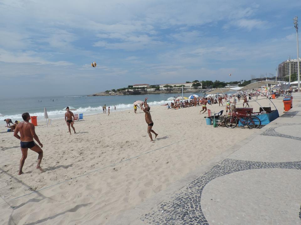 Copacabana Rio De Janeiro Vacation Brazil Beach