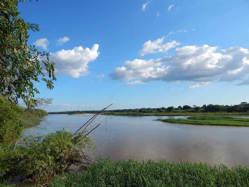 Rio Poty, Piauí, Rio, Nature, Blue Sky, Water