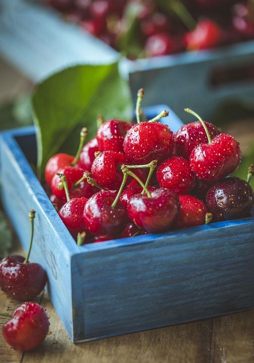 Cherry, Cherries, Fruit, Ripe, Red, Fresh