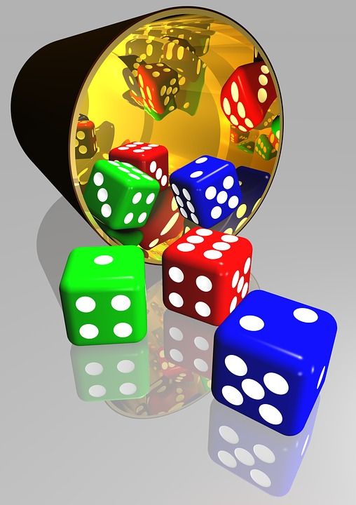 Dice, Gaming, Play, Luck, Chance, Gamble, Risk, Win