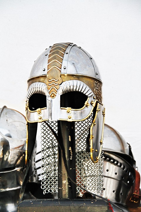 Knight, Ritterruestung, Middle Ages, Metal, Helm