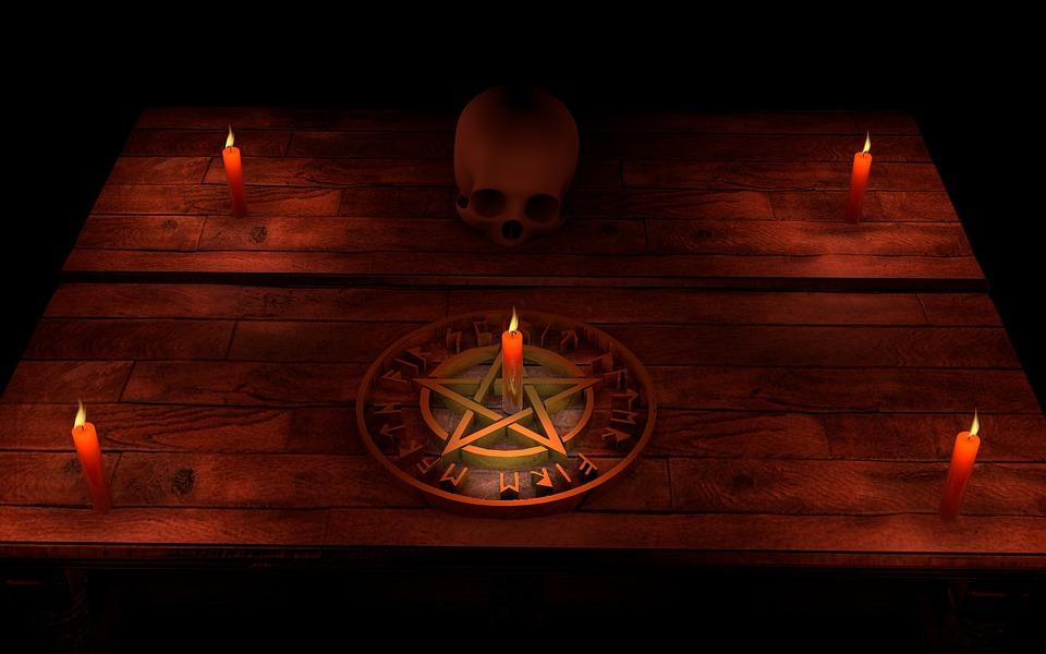 Pentacle, Magic, Occultism, Mystic, Ritual, Mental