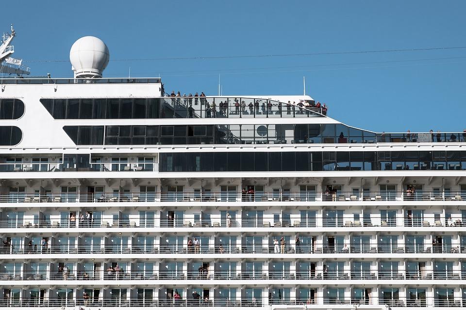 Port, River, Liner, Sea, Cruise, Amsterdam, Deck