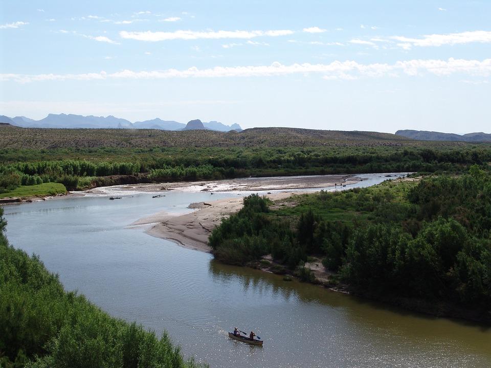 River, Rio Bravo, Big Bend National Park, Usa, Texas
