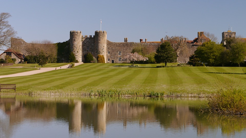 Water, Architecture, Castle, Reflection, River