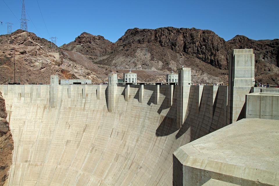 Hoover Dam, Dam, Nevada, Arizona, River, Colorado