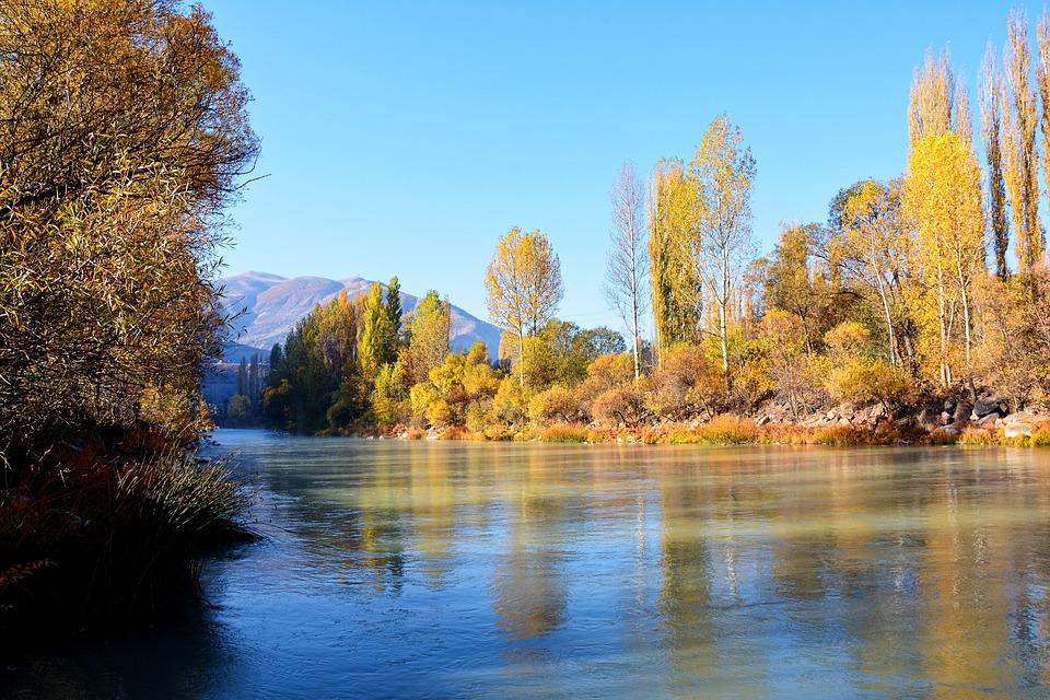 Coruh River, River, Streaming, Dd, Pebbles, Shadows