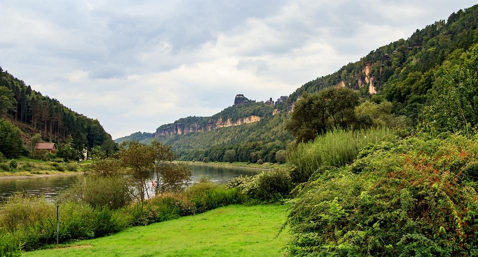 Elbe, Elbe Valley, Nature, Landscape, River