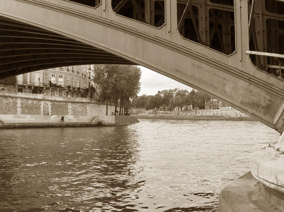 River, La Seine, Bridge, Seine, Architecture, Landmark