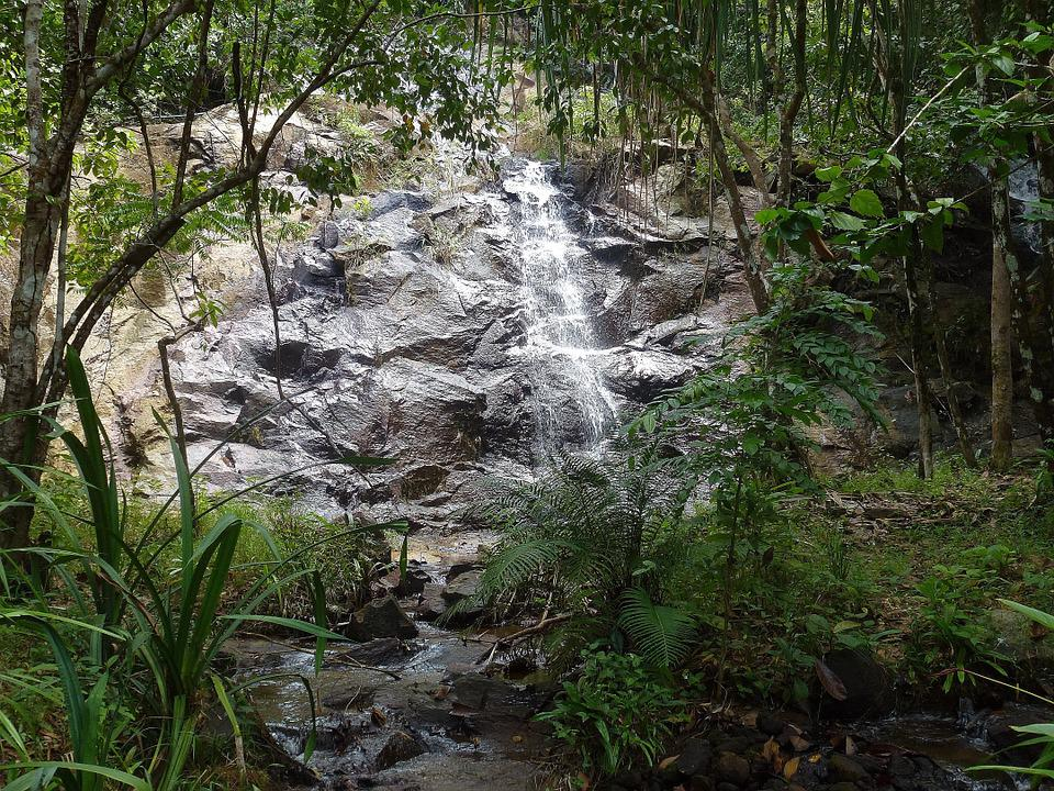 Waterfall, Thailand, River Landscape, Landscape